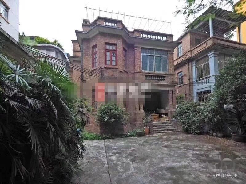 东山口园林民国别墅带贷款私家车超大享花园别墅般的v园林红砖买位尊图片