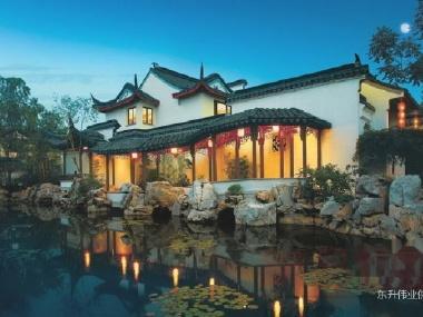 新新小镇苏园别墅 500平米徽派庭院 ,真实装修图片,有