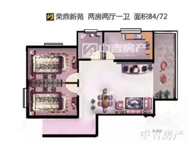 房产证面积:85平方米  房屋价格:68.