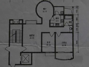小区房子电路走线图