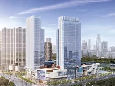 通州副中心商务区 富力 6号线 城铁 运河观景
