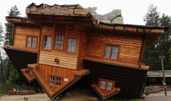 图:最具创意的房屋设计:10栋颠倒的房子