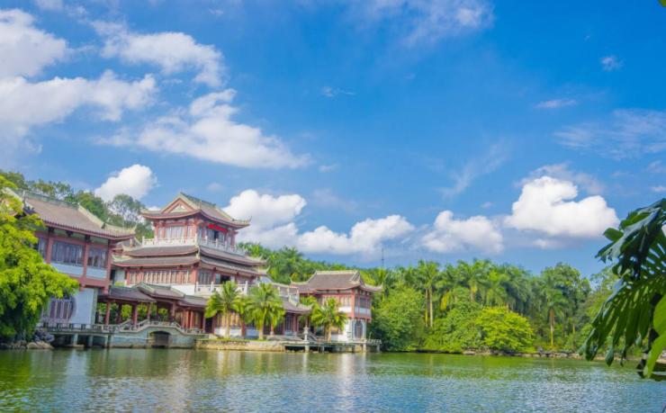 (5a级旅游景点:青秀山风景区)