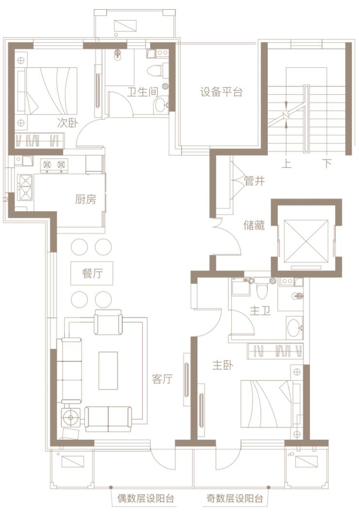 6米宽11米房子设计图