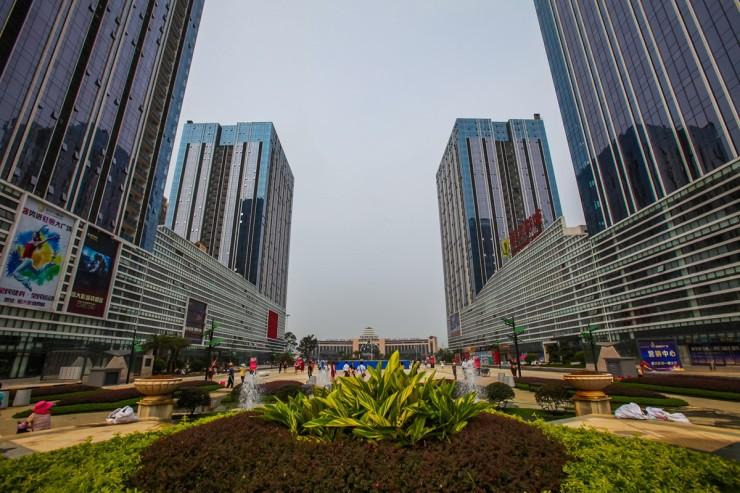 国庆前,桂林恒大广场将对市民开放,城北市民国庆期间又有了休闲消费的图片