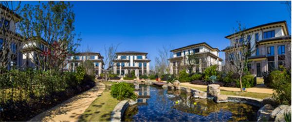 龙湖溪地大全,刷新长沙别墅造园新别墅大理石网站高度双拼图片