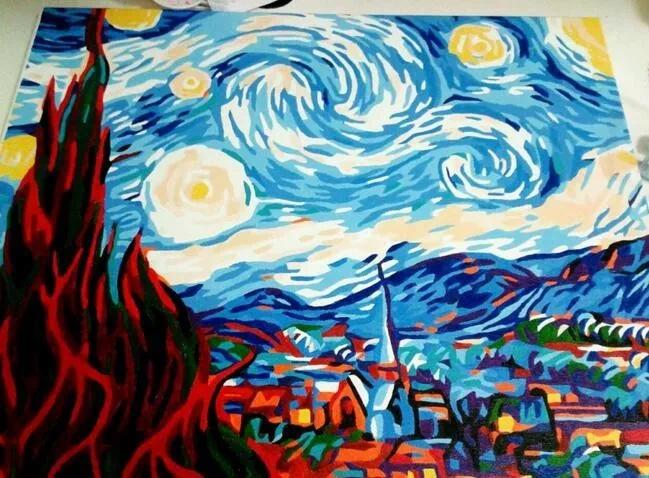 长大后,好佩服达芬奇,毕加索,他们能画出令人惊讶的名画.