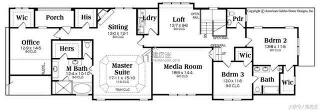 自建房v主题狭长主题8米X27米两层房屋设计图地基服装设计图片