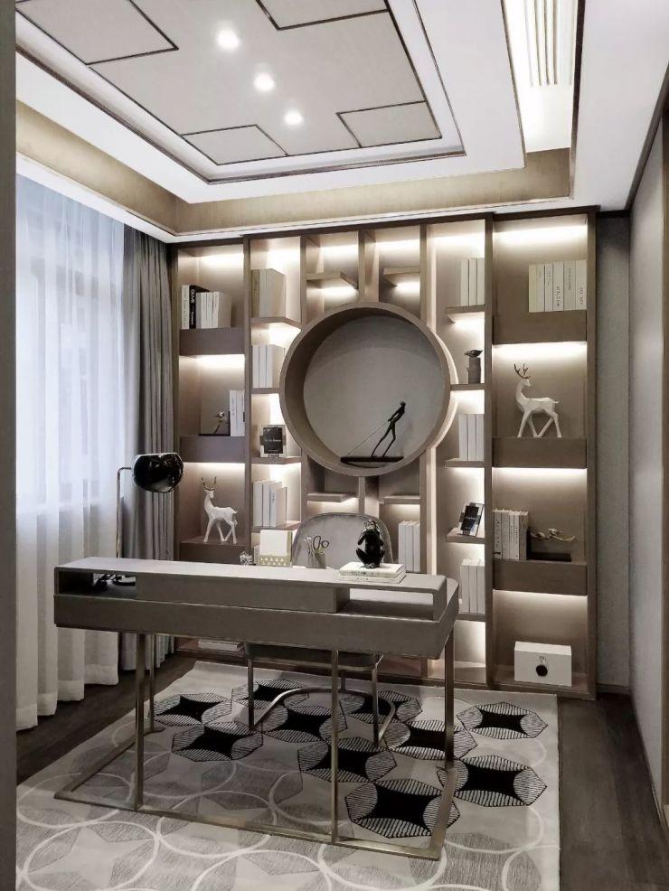 超美的中式样板房设计!