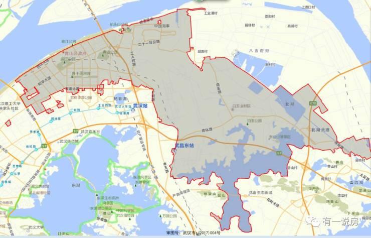 武汉青山区 没通地铁的主城区 未来楼市有多大升值空间图片