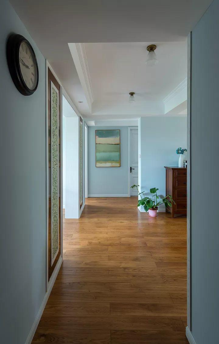 玄关走廊尽头欧式壁画