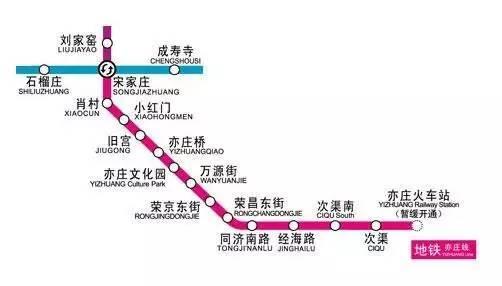 同時該站還將通過環線連通北京新機場及香河,三河等京津冀主要城市.圖片