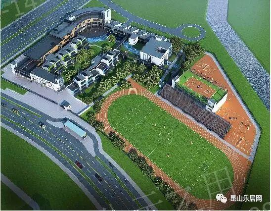 上海后花园花桥最新进展规划:城西再添新西区小学石渠住宅