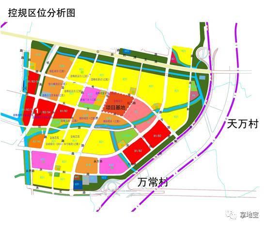 金輝臨平新城南項目規劃公示,主打剛需,規劃17幢高層圖片