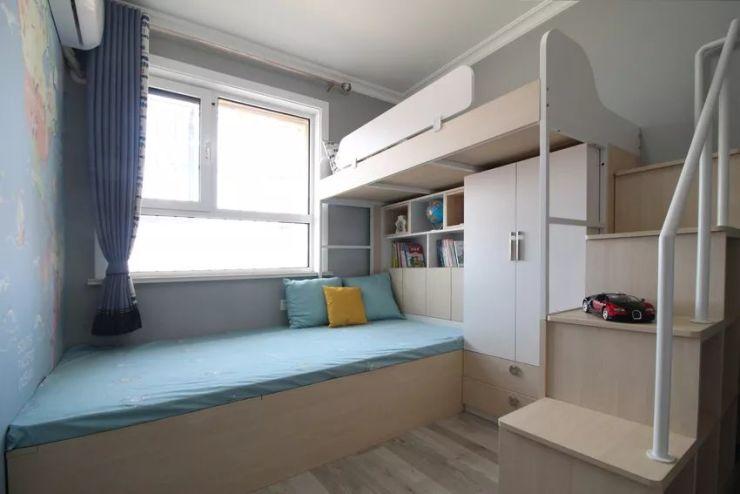110㎡舒适北欧风三居,儿童房设计很适合二胎家庭!