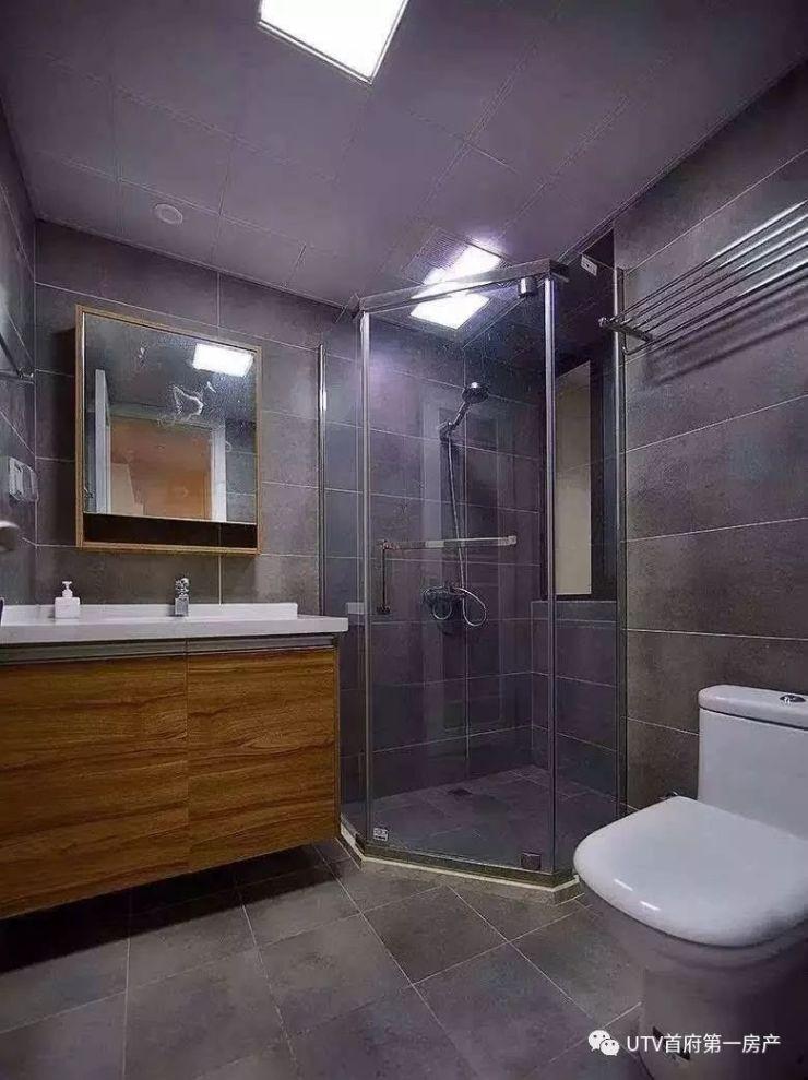 卫生间干湿分离装修效果图集合