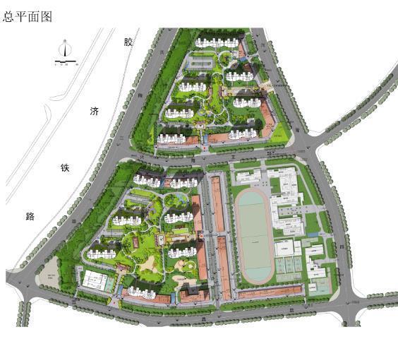 市北区宜昌路31号安置房项目规划配2.5万平商业-青岛