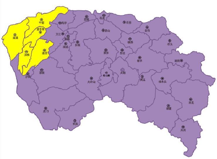 1,包含区域:麻涌镇,中堂镇,望牛墩镇,洪梅镇和道滘镇.