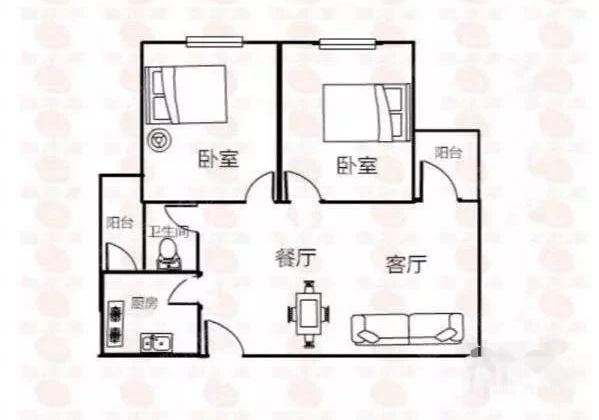 沙井地铁口麒麟名都 84平精装两房 优惠出售一口价122