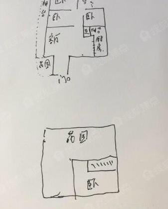 户型 户型图 简笔画 平面图 手绘 线稿 337_420 竖版 竖屏