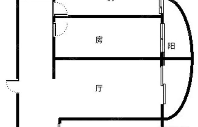 莲前05年小区 精装两房 电梯高层 朝南户型 交通便利