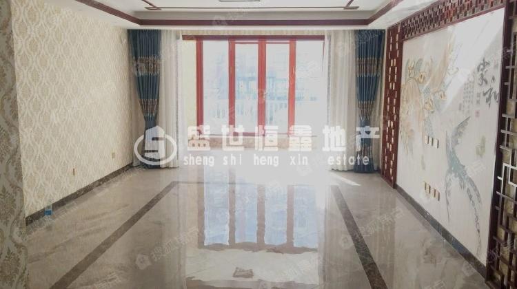 北京风景 三居室 小区中心 前后无遮挡 南北通透 落地窗