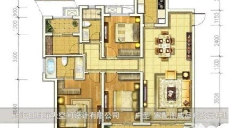 华润悦锦湾 205万 4室2厅2卫 毛坯,舒适,视野开阔