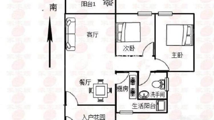 急售沙井地铁口《麒麟名都》精装小三房,低于市价20万