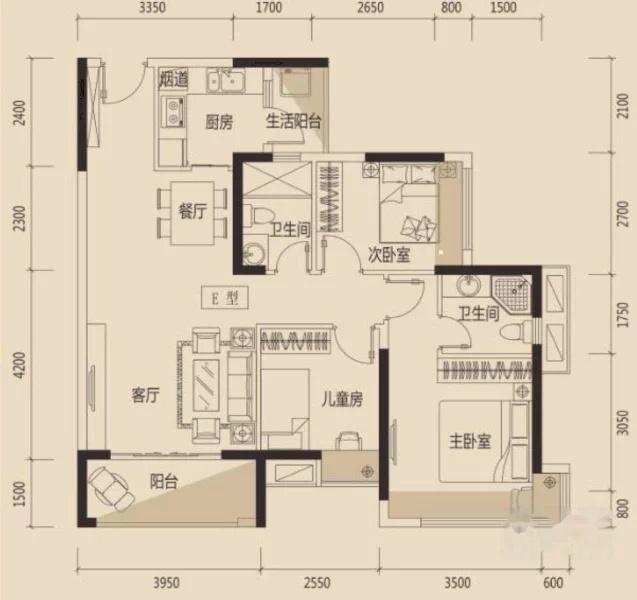 央企保利 首付1成,精装3房,近惠州南站,天虹吉之岛,学位房