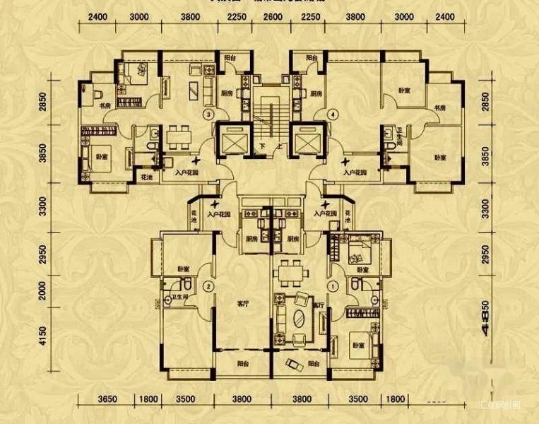 恒大名都 115万 2室2厅1卫 装修,阔绰客厅,超大阳