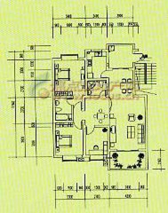 电路 电路图 电子 户型 户型图 平面图 原理图 551_700 竖版 竖屏