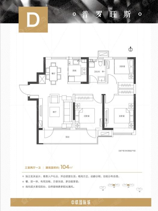 中欧国际城d_中欧国际城户型图-青岛搜狐焦点网