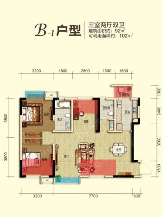 龙城半岛b1_龙城半岛户型图-成都搜狐焦点网