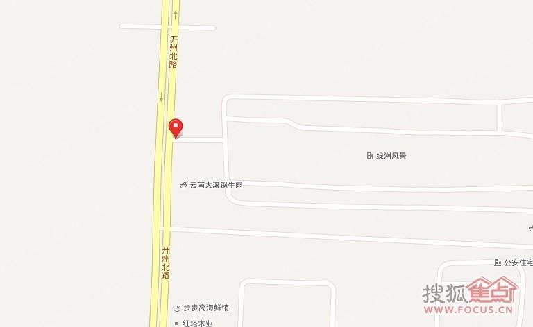 绿洲风景图片_样板间_装修效果图-濮阳搜狐焦点网