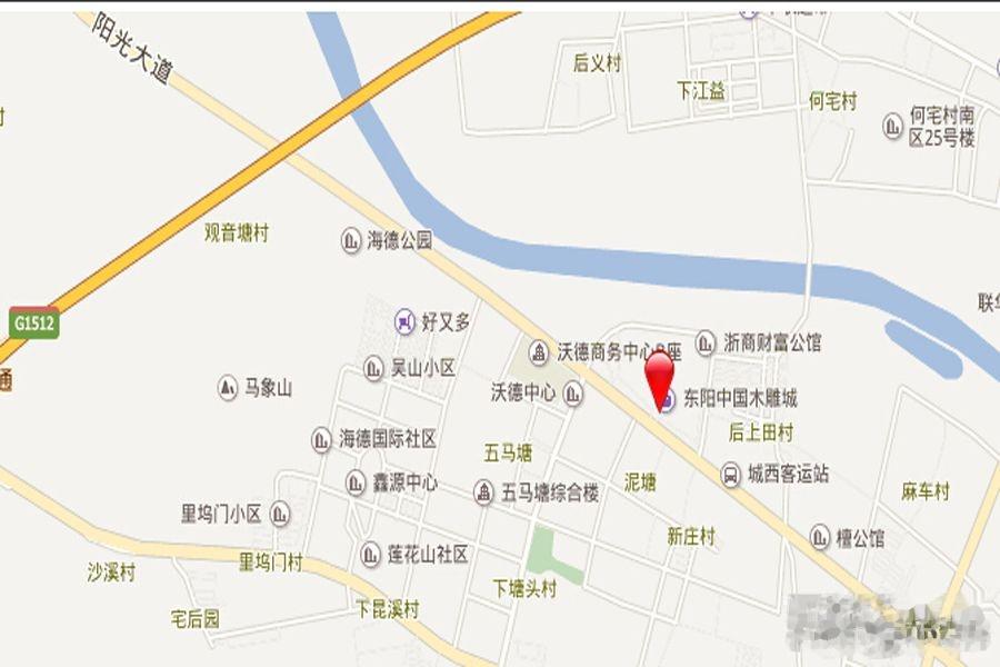 赣州市东阳三路地图