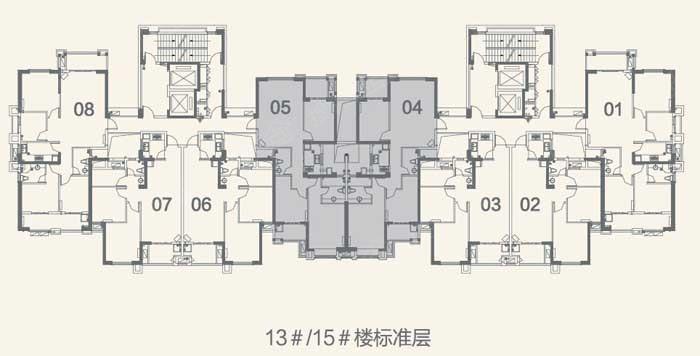 金辉淮安半岛泊宫户型图