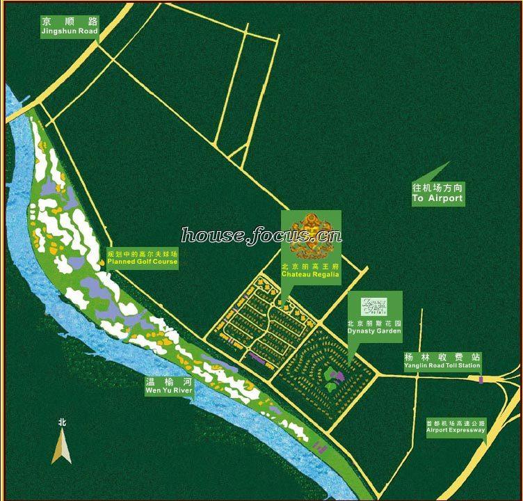 王府学校校区平面图