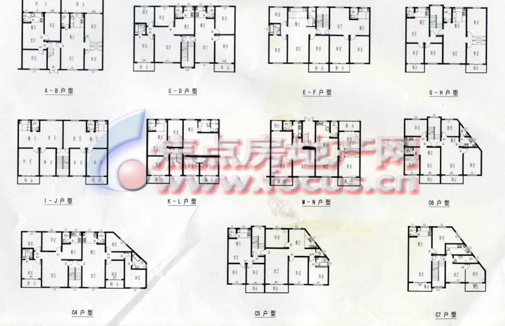 三层115平方房子设计图