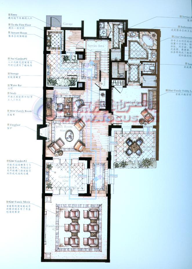 别墅沐桥公元国际公寓v别墅完美任务图片