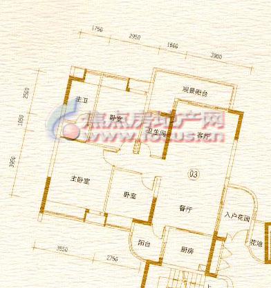 岭南建筑之旅手绘地图