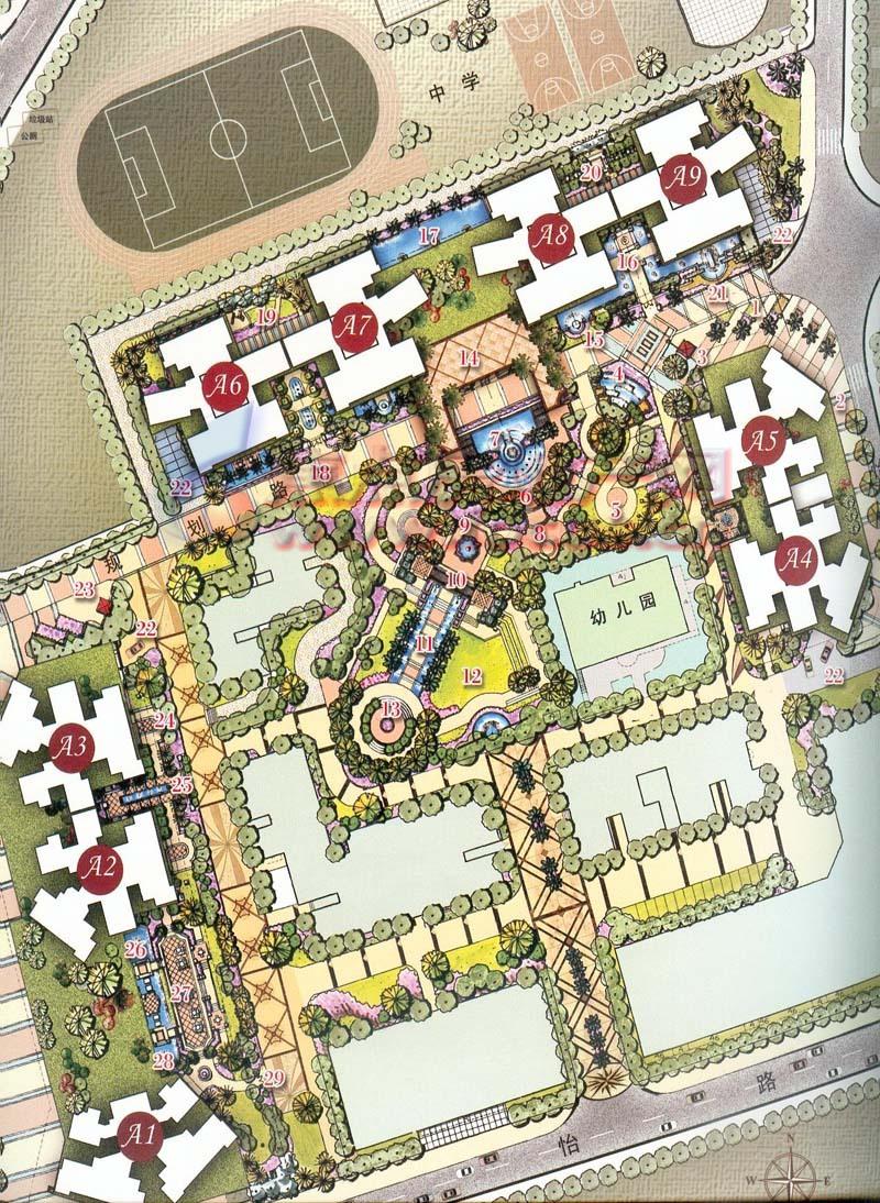 花园停车设计图
