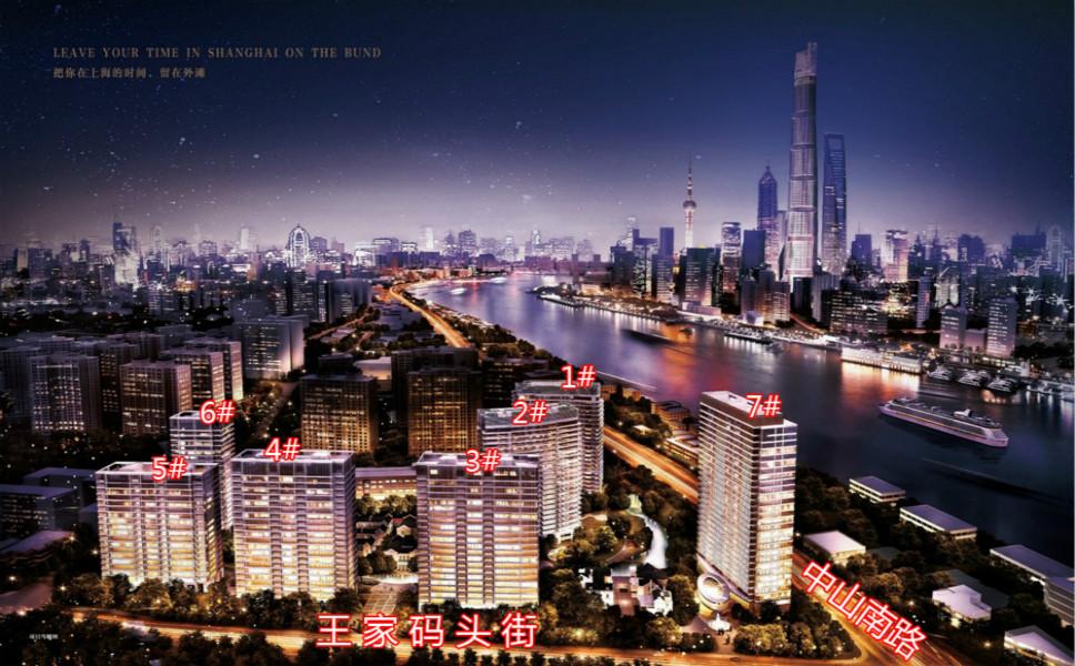 明星落户上海的那些高大上豪宅盘点,关键这些还不是上海最高的!