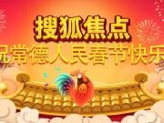 搜狐焦点新年贺电