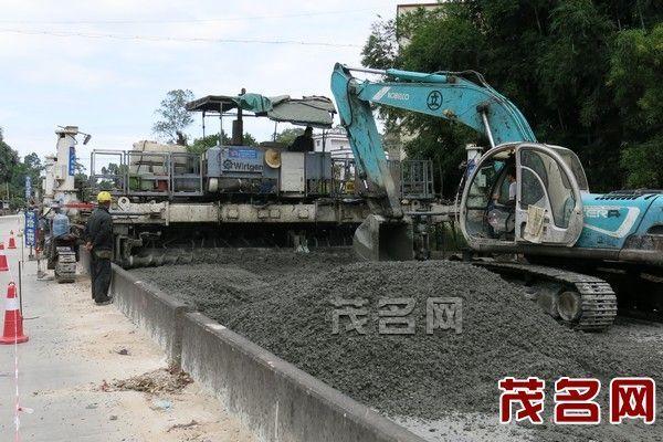 G 207高州至信宜路面改造进展顺利 预计年底完工