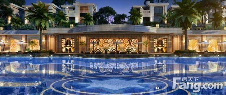 法式园林里的皇家游泳池,你期待吗?