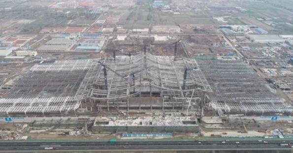 晚读:红岛高铁站年底竣工 青岛新机场南进场路高架桥10月合拢