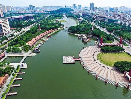 """南海:建设中轴公园打造""""珠江河谷""""示范区!"""