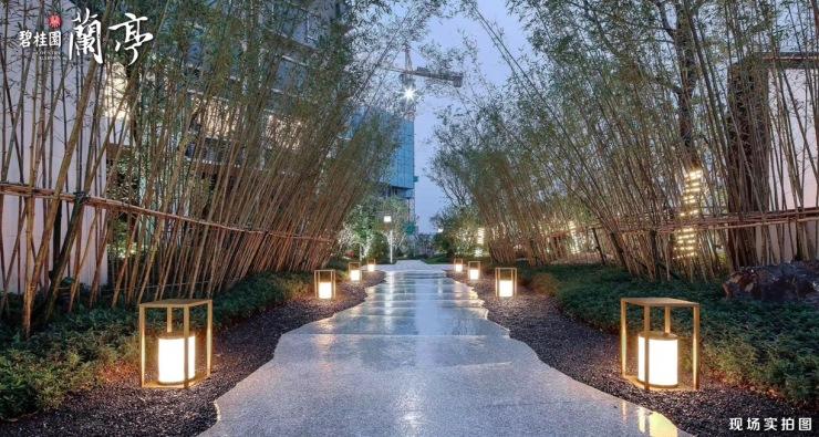碧桂园蘭亭:一城奢景,开园共鉴丨新中式园林示范区惊艳开放