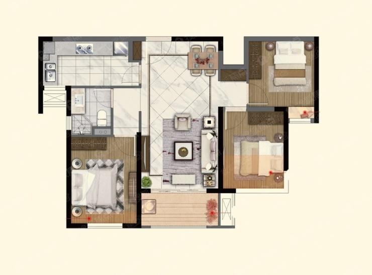 [开盘详情]燕子矶热盘新领281套房源销许 均价25788元