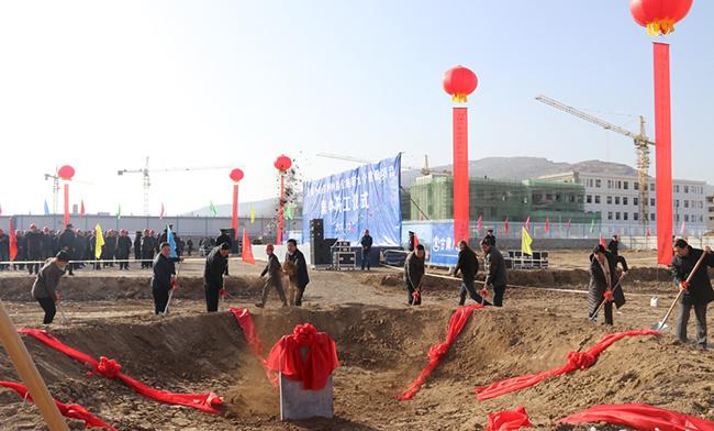 天水秦安9项目集中开工 含天巉西辅路郑川段项目